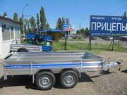 Прицеп двухосный   Tiki-treiler В-300В-Р/2000