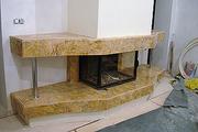 Камин из мрамора камин из мрамора киев камин из мрамора в интерьере.