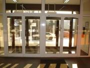 Недорогие алюминиевые перегородки Киев,  офисные алюминиевые двери