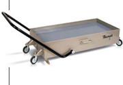Передвижное устройство для слива масла с ручной системой слива
