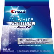 Отбеливание зубов в домашних условиях Crest 3D White Whitestrips