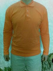 Акция на женские регланы с длинным рукавом оранжевого цвета- 40 грн.