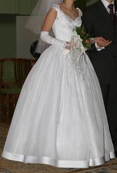 Продается свадебное платье,  в отличном состоянии,  эксклюзивный пошив р