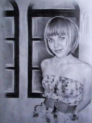 Портреты на заказ по фотографии (графитный карандаш). Только г. Киев