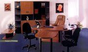 Престижная офисная мебель для кабинета директора коллекции Гранд