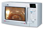 Продам микроволновую печь с грилем Lg Mh-6384BC