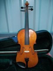 Скрипка 4/4 Mathias Wornie Mittenwald an der Lsar Аnno 1920 год