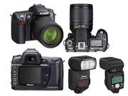 Nikon D80 kit18-135 + вспышка Nikon SB 800