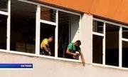 Установка балконов Киев недорого,  балконы Киев,  двери на балкон Киев