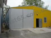 Построить ангар в Киеве,  строительство складов,  зернохранилищ под ключ