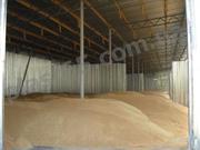 Ангары для хранения зерна (зернохранилища,  сенохранилища),  проектирование,  изготовление,  монтаж.