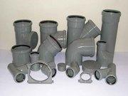 Трубы и фасонные элементы для канализации