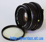 Недорогой светосильный SMC Pentax-M 1:2 50mm,