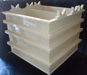 Производство гальванических ванн из полипропилена