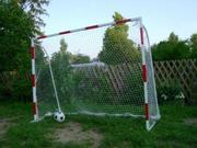 Ворота футбольные дачные детские 2000х1500 с полосами, Киев