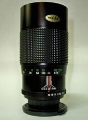 Vivitar 200mm 1:3.5 Auto Telephoto M42