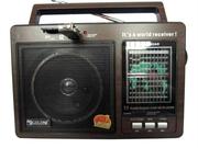 Продам новый портативный  радиоприёмник со встроенным проигрывателем