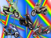 Ремонт скутеров,  мопедов,  мотороллеров.