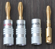 Бананы Nakamichi для акустического кабеля.