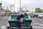 Лодка с мотором Mercury 50