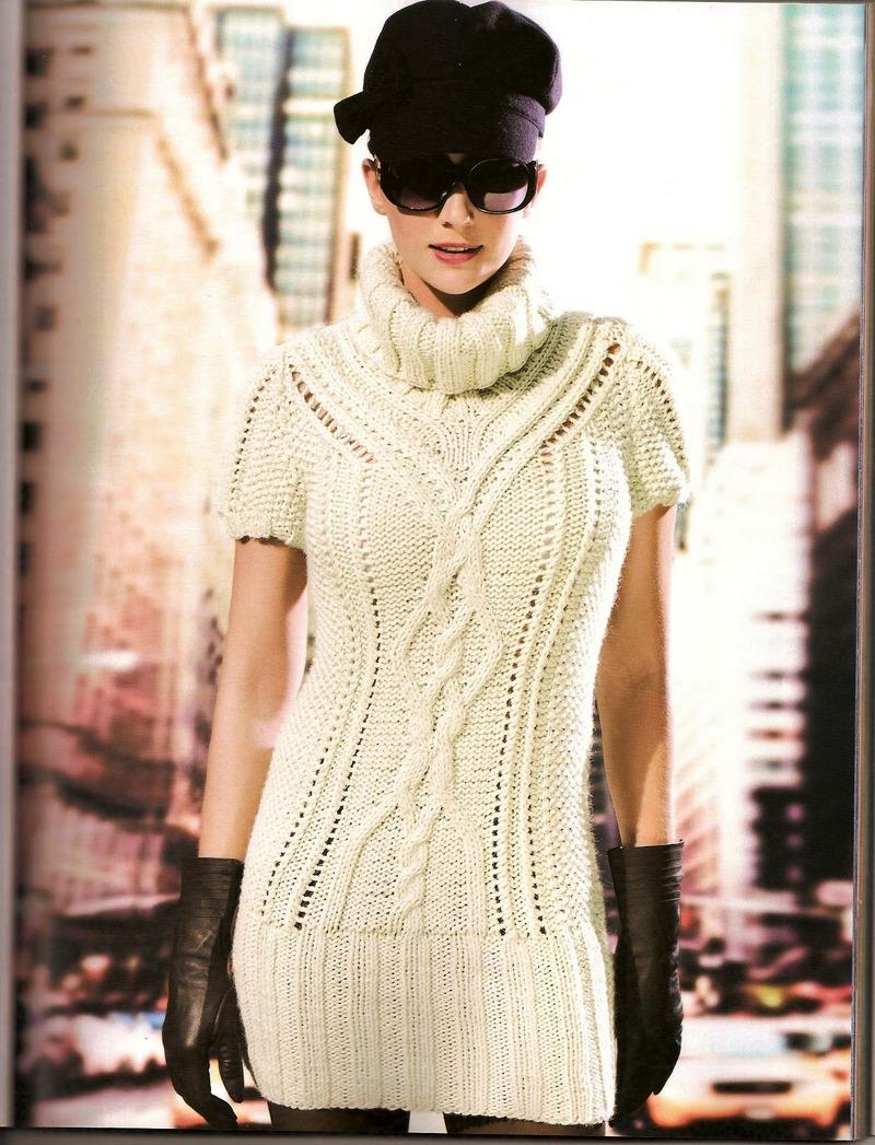 3 фев 2015 В разделе вы найдете вязаные спицами платья, туники и юбки для Б