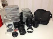 Продаю зеркальный фотоаппарат Olympus Е-620 c объективами