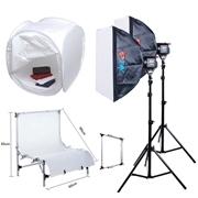 Готовые наборы студийного фото оборудования. Фотомагазин БКТ