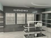 Торговое оборудование мебель на заказ киев