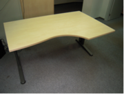 Рабочий стол (правый,  левый)  б/у