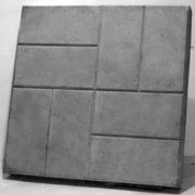 Плитка тротуарная,  400х400,  500х500мм,  1000х1000мм,  8К5,  8К8,  8К10.