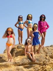 Пляжная туника для девочек Шарманте