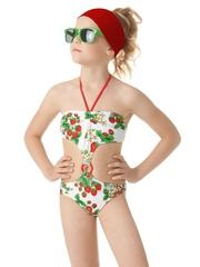 Детский купальник для маленьких модниц