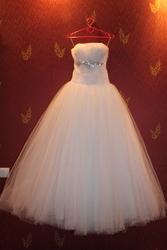 Продам нежное фатиновое свадебное платье