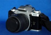 Pentax ZX-50 (Pentax MZ-50) + SMC Pentax-F 35-80mm 1:4-5.6