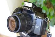 Pentax PZ-1 + SMC Pentax-F 35-80mm 1:4-5.6 Профессиональный зеркальный