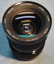 Atan P-MC 28-70mm 1:2.8-4.2  Macro 70mm  Светосильный байонет Pentax K