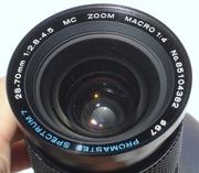 Promaster Spectrum 7  28-70mm 1:2.8-4.5 MC (Multi-Coated) Macro 1:4  б