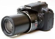 Прокат фотоаппарвтов,  аренда фото камеры,  Canon PowerShot SX50 HS