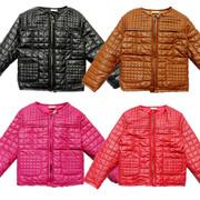 Пиджак детский стильный стеганый PU кожа в наличии минимальная цена