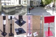 Съемные столбики,  оградительные столбики,  парковочные столбики