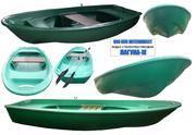 Гребная лодка стеклопластиковая Лагуна-М длина 3.5 метра от производ.