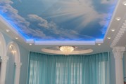 Гипсокартон и светодиодка под натяжные потолки от ТМ