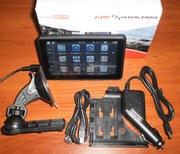 GPS навигатор + видеорегистратор  5