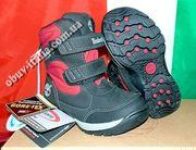 Ботинки демисезонные детские кожаные Timberland Gore-Tex оригинал