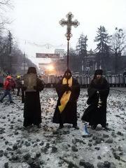 Обращение монахов Десятинного монастыря. Киев