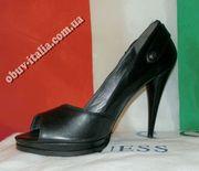 Туфли женские кожаные фирмы GUESS оригинал