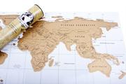 Скретч - карта мира