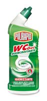 Дезинфицирующий гель для чистки унитазов Pulirapid