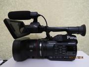 Аренда профессиональной видеокамеры  Panasonic AG-AC90, прокат видео ка