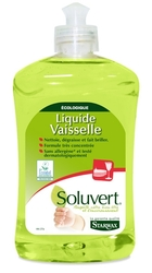 Экологический гель для мытья посуды Soluvert